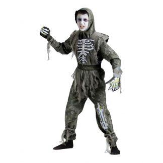 Zombie Barn Maskeraddräkt - Large