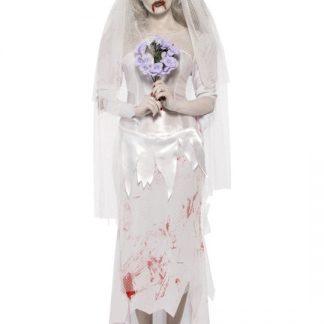 Zombie Brud Maskeraddräkt Small