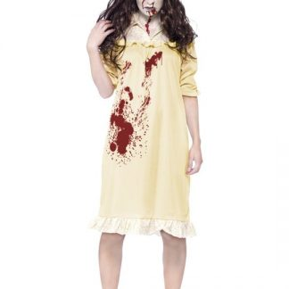 Zombie Exorsist Maskeraddräkt Xsmall