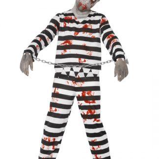 Zombie Fånge Maskeraddräkt Barn Medium