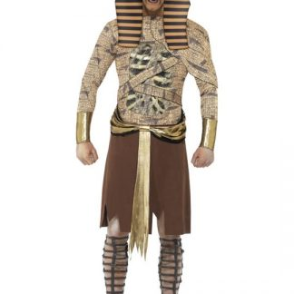 Zombie Farao Maskeraddräkt Large