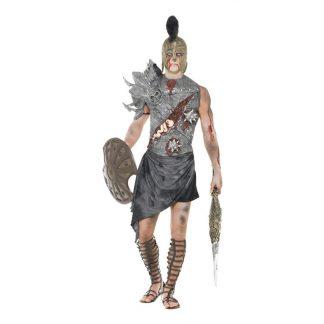 Zombie Gladiator Maskeraddräkt - Large