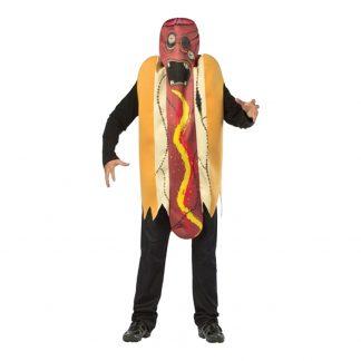 Zombie Hotdog Maskeraddräkt - One size