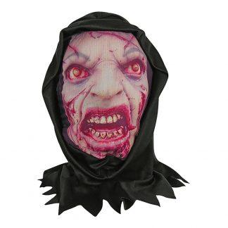 Zombie Hudmask med Luva - One size