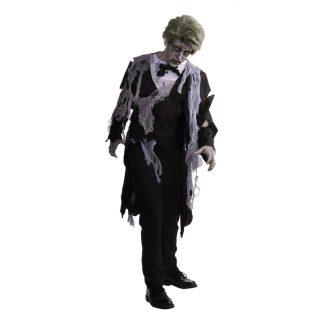 Zombie Kostym Maskeraddräkt - One size