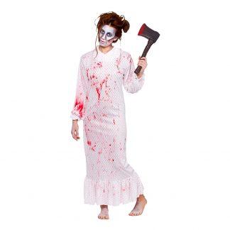 Zombie Nattlinne Maskeraddräkt - One size
