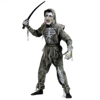 Zombie Ninja Barn Maskeraddräkt