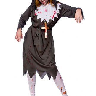 Zombie Nunna Dräkt