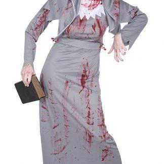Zombie Nunna Maskeraddräkt, SMALL
