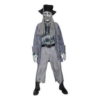 Zombie Pirat Maskeraddräkt - Large