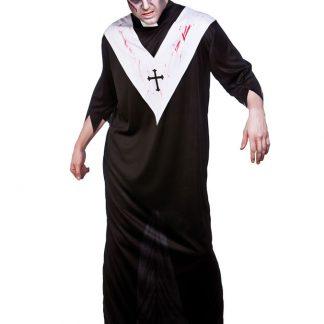 Zombie Präst Maskeraddräkt (One Size)
