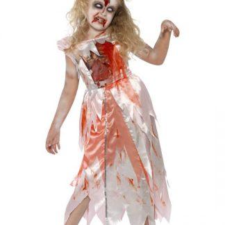 Zombie Prinsessa Maskeraddräkt Barn Medium