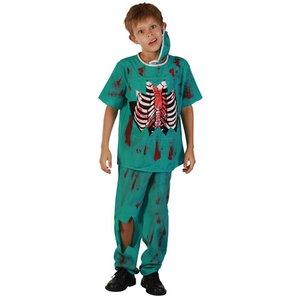 Zombie doktor maskeraddräkt - Barn