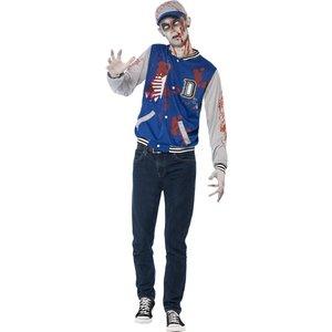 Zombie supporter maskeraddräkt